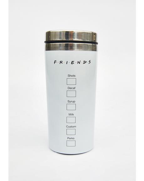 Central Perk Tumbler Mug