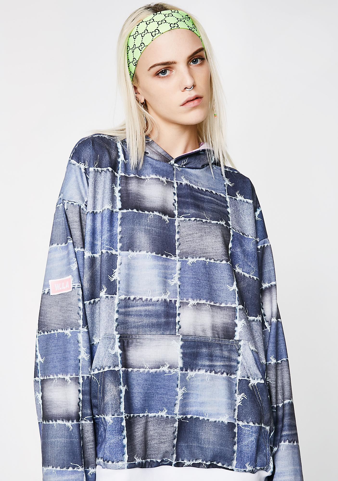 W.I.A Patchwork Pullover