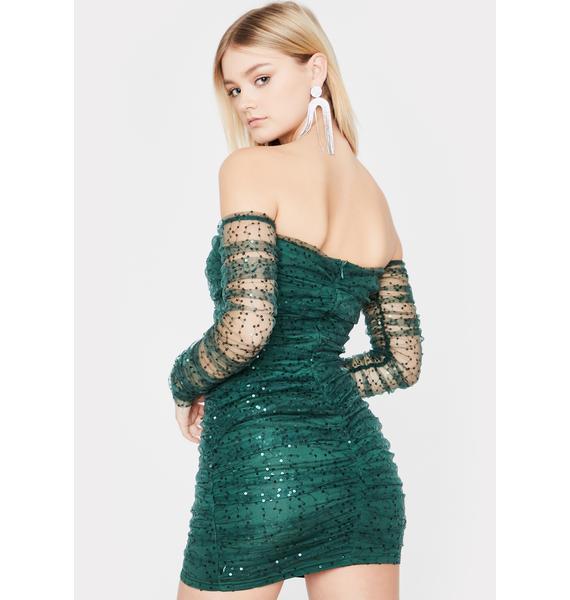 Open Invite Off The Shoulder Dress