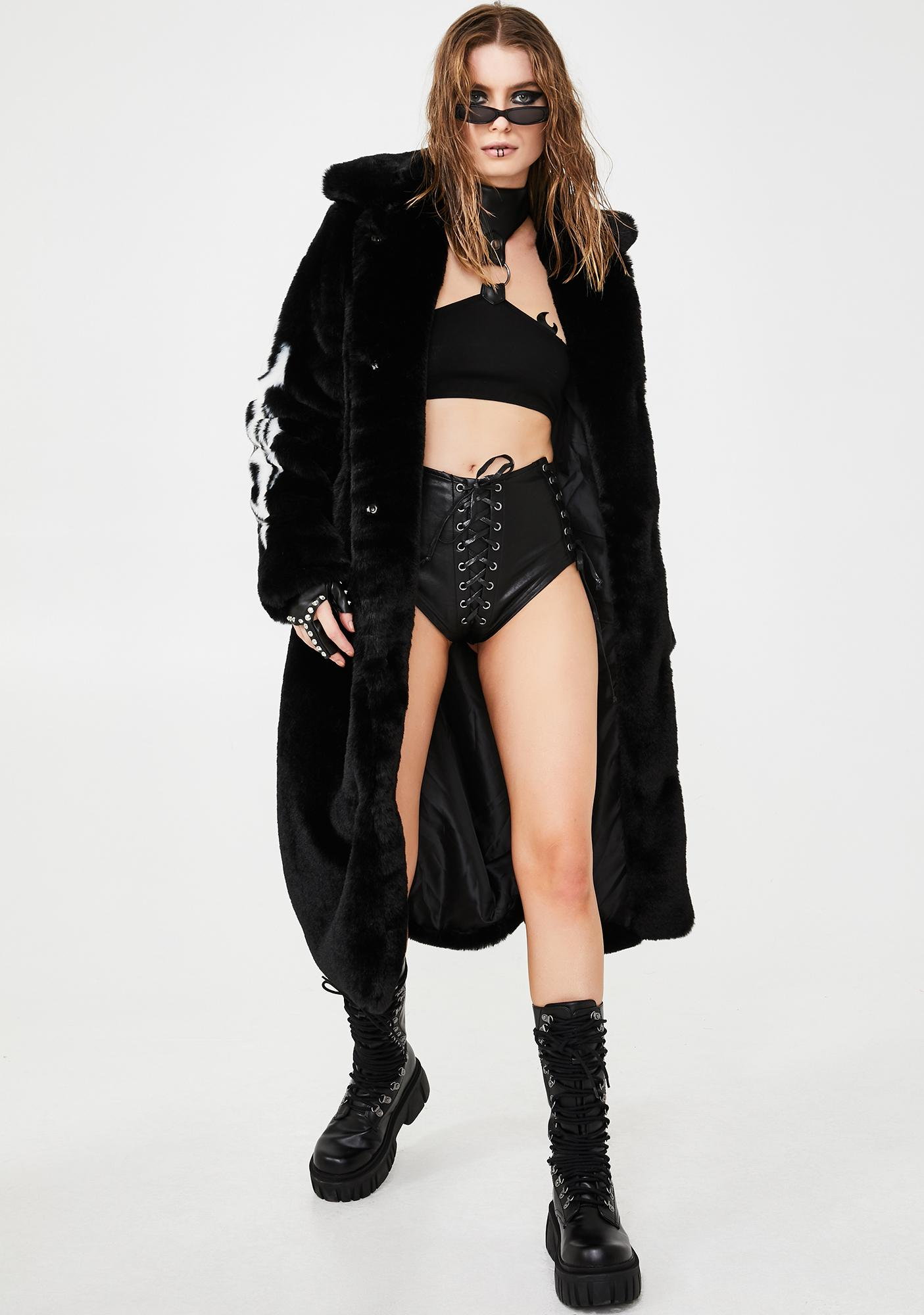 Club Exx Lady Minxx Lace-Up Shorts