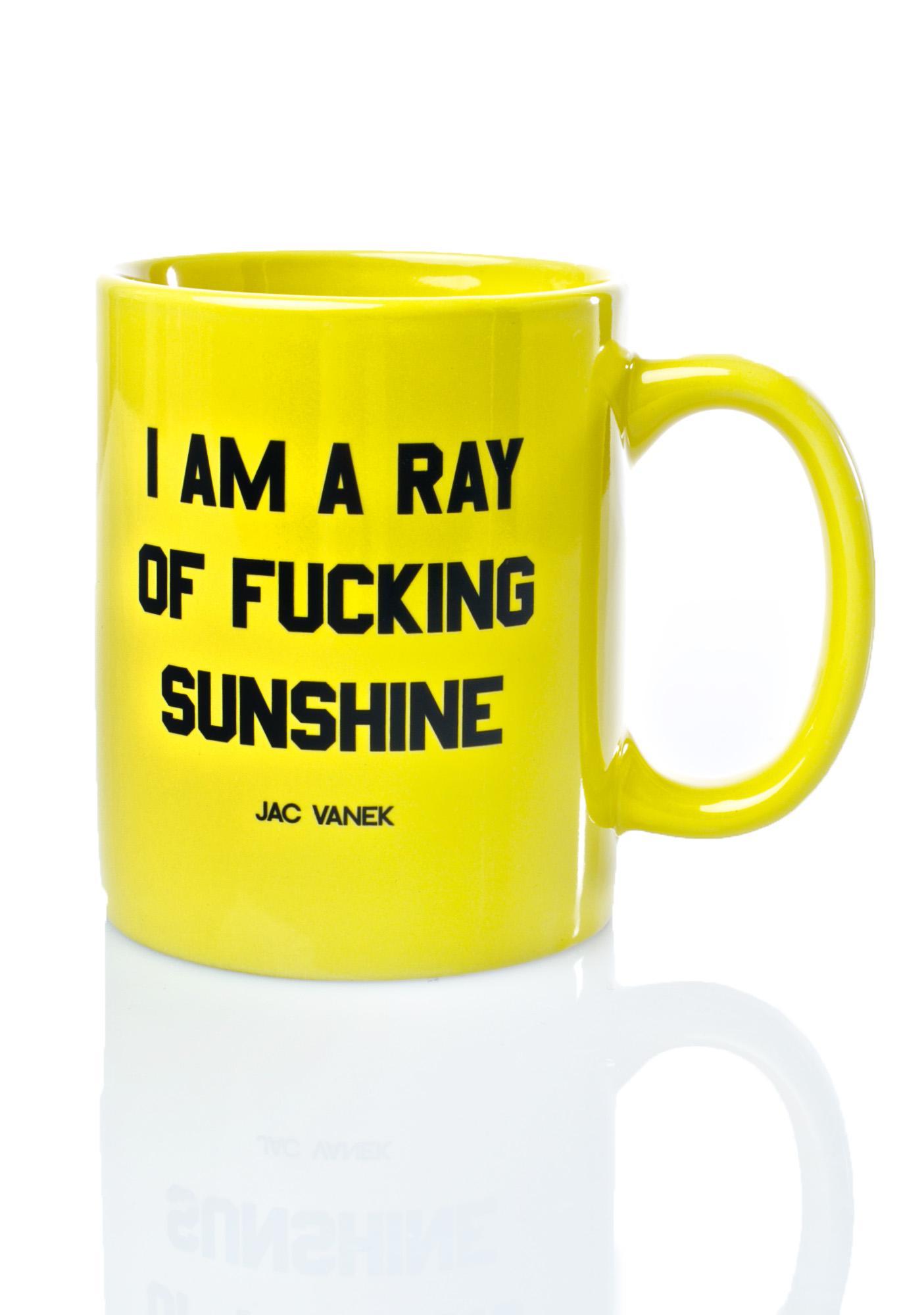 Jac Vanek Sunshine Coffee Mug