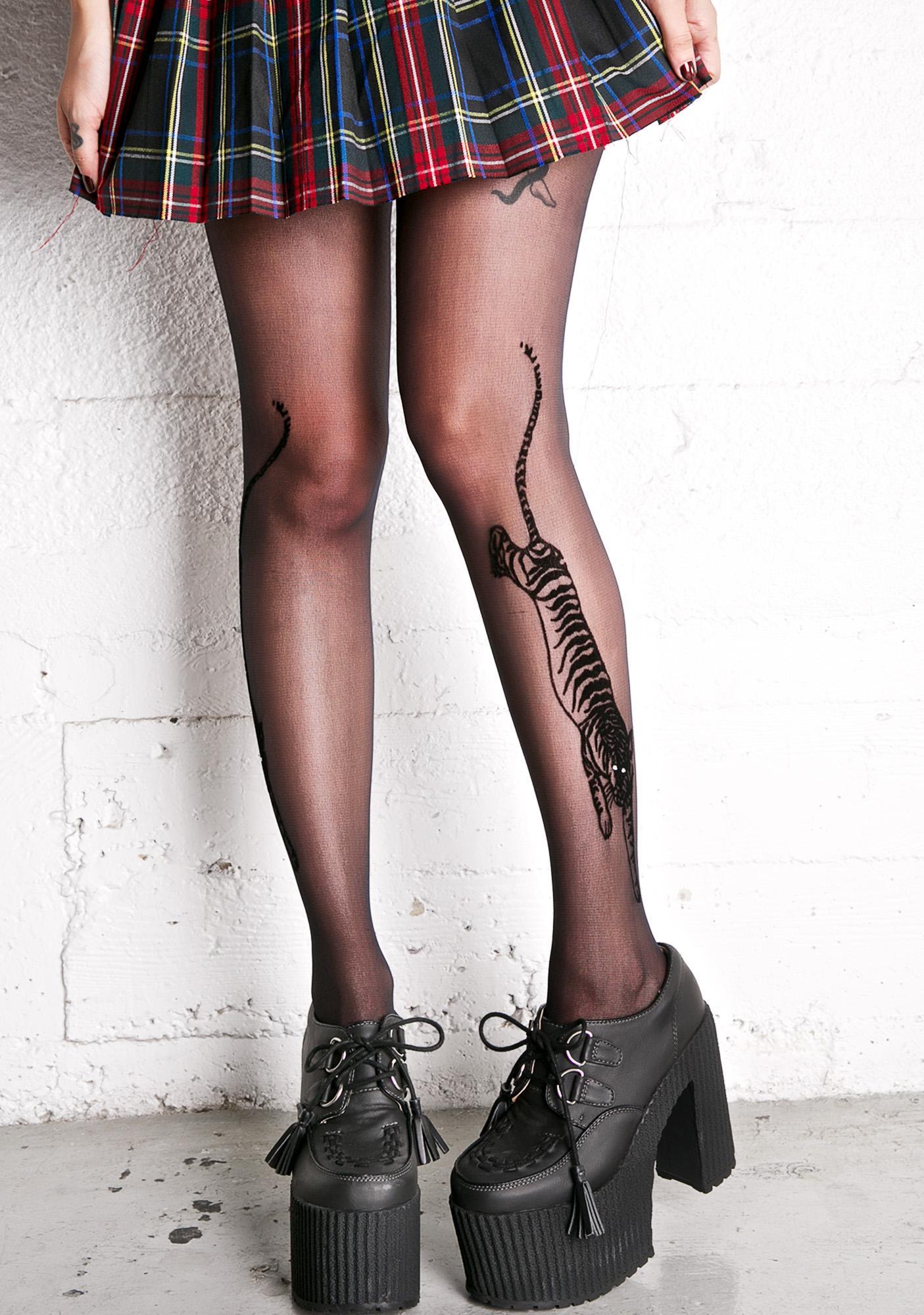 Bengal Tattoo Tights