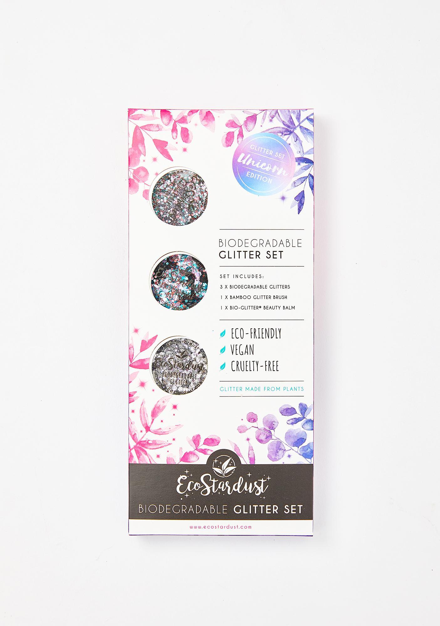 EcoStardust Unicorn Biodegradable Glitter Set