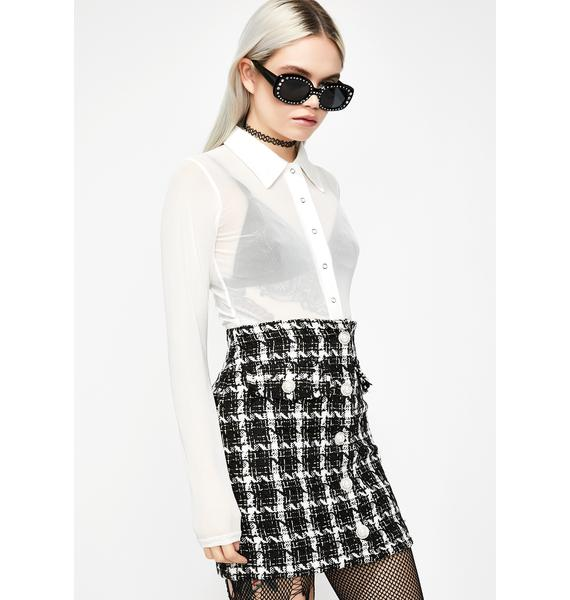 Capital Couture Tweed Skirt