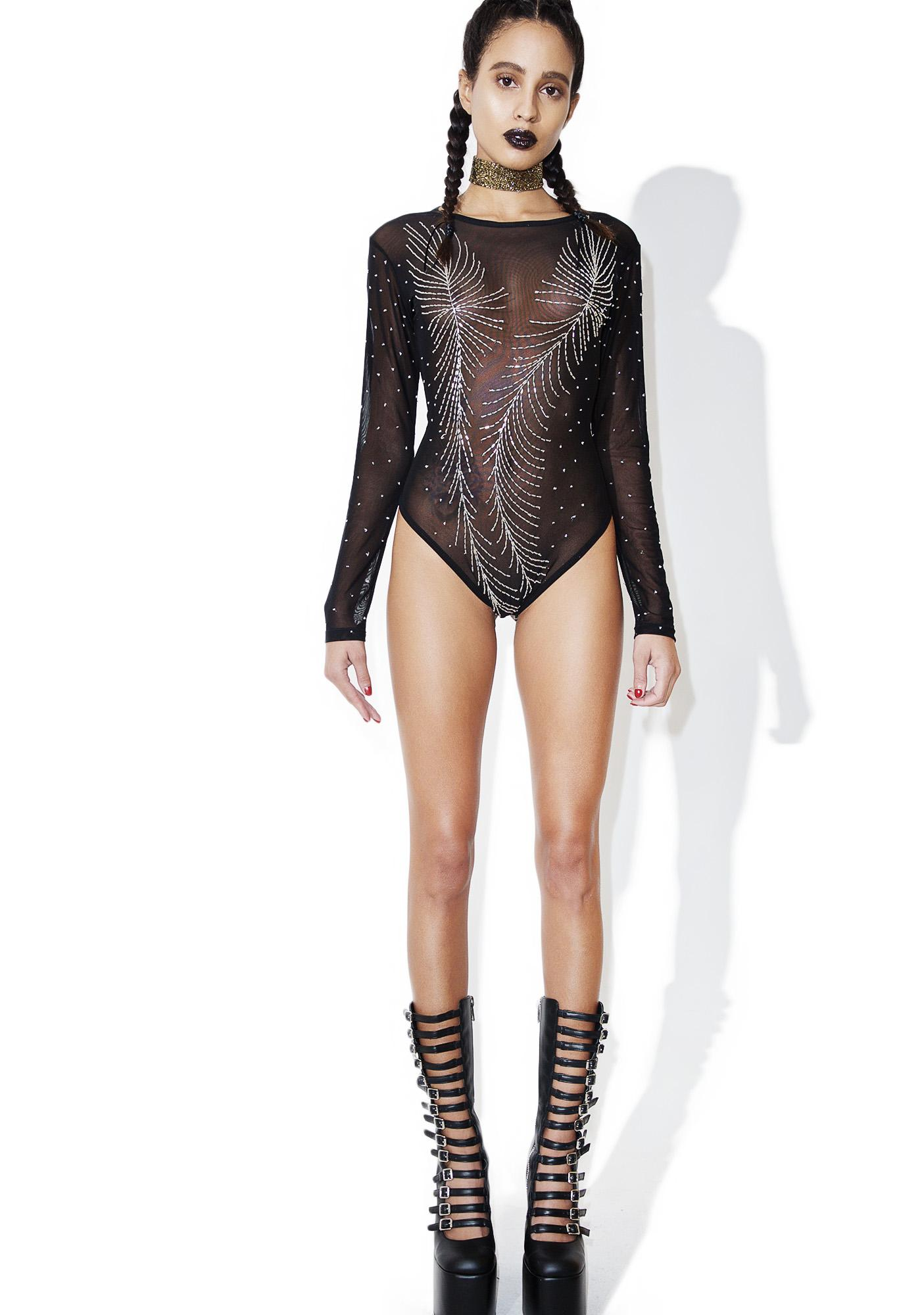 2ffb633e58 ... This Is A Love Song Sequin Mesh Bodysuit ...