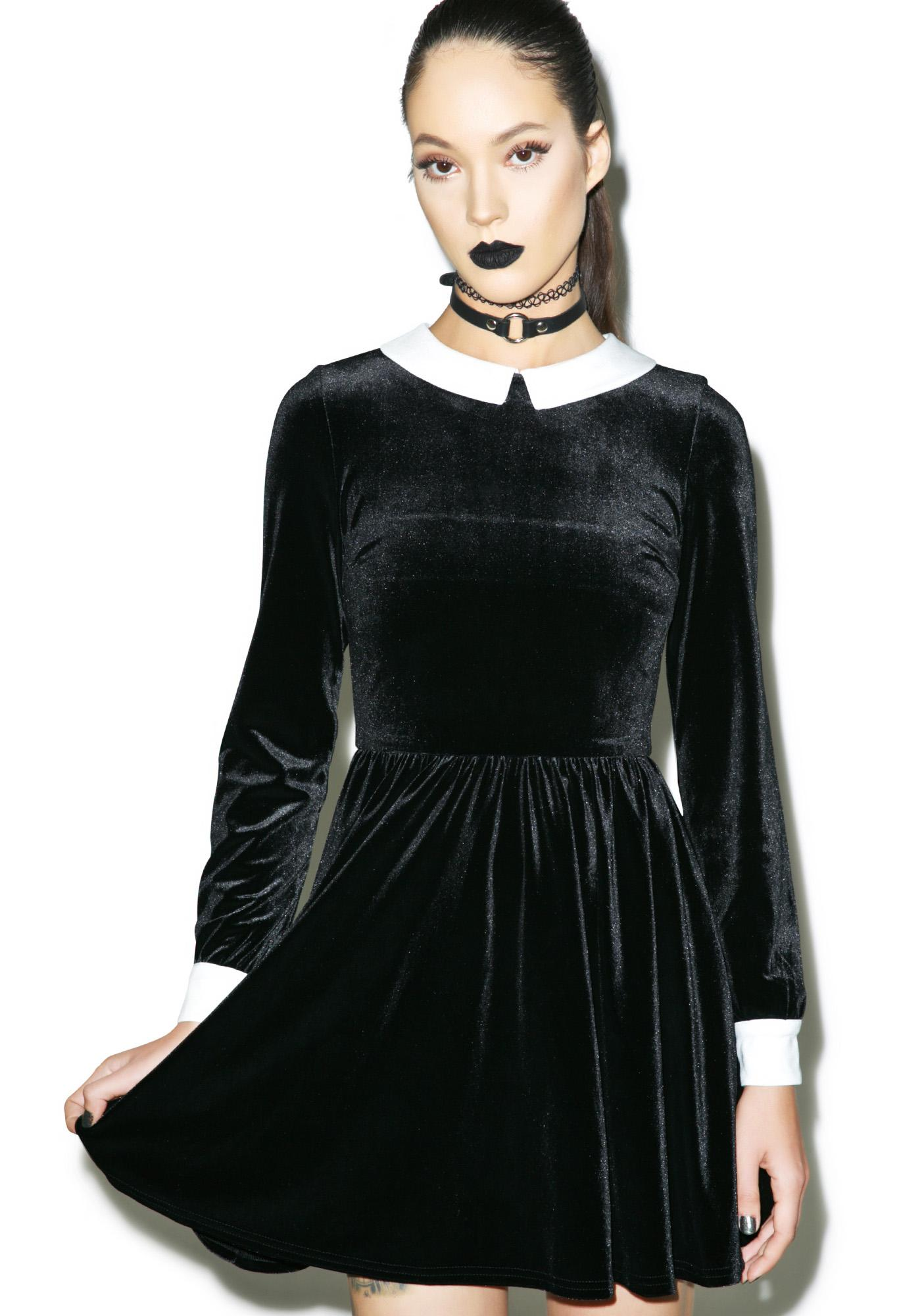Holloway Velvet Dress