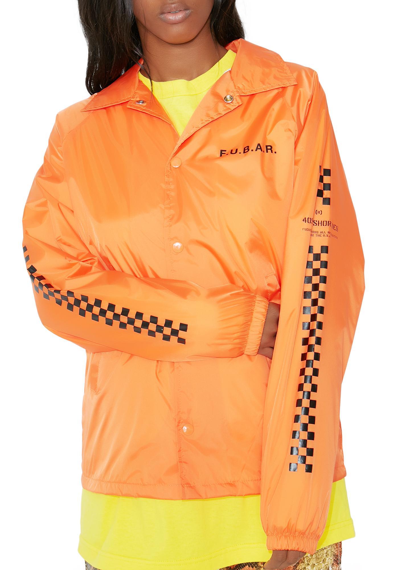 40s & Shorties F.U.B.A.R. Coaches Jacket