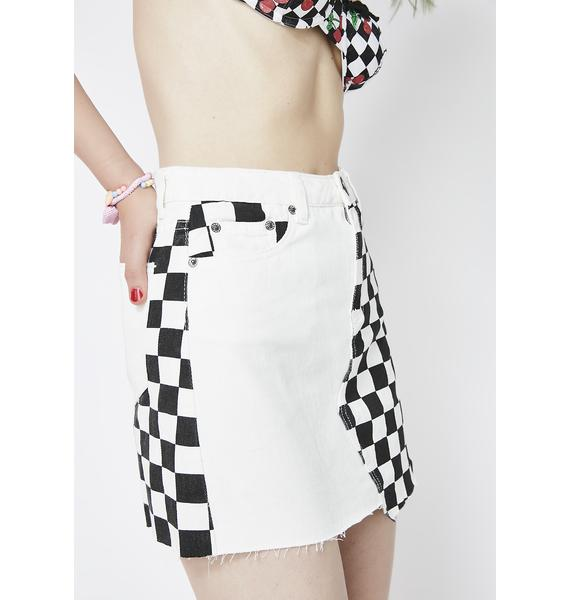 Cross The Finish Line Skirt