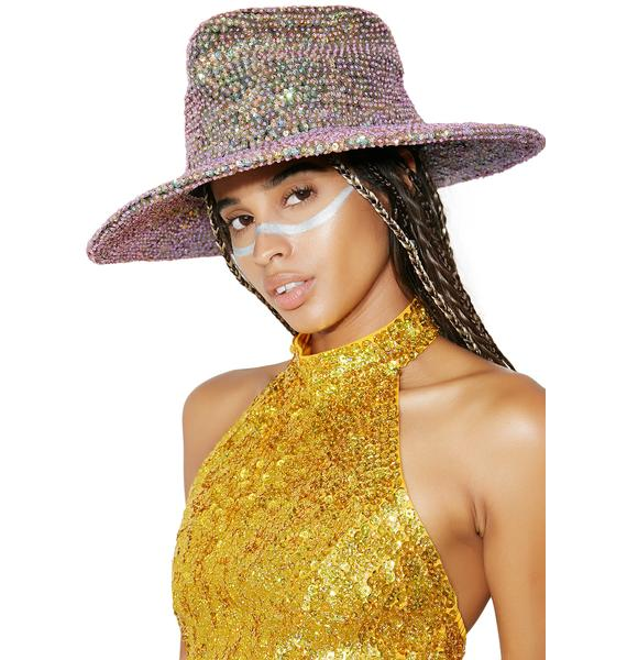 Glamour Rodeo Sequin Cowboy Hat