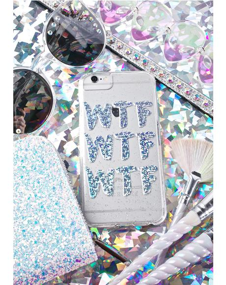 WTF iPhone Case