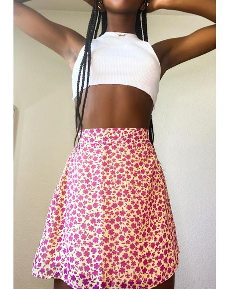 Summer Sun Mini Skirt