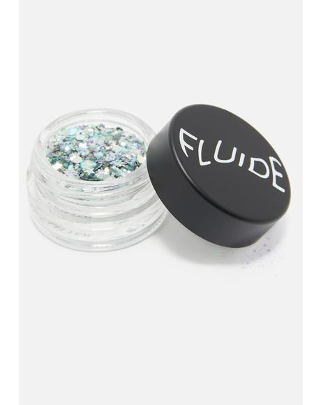 Silver Aura Loose Glitter