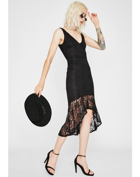 High Key Classy Lace Dress