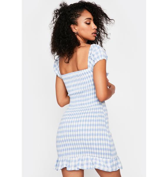 Summertime Lover Gingham Dress