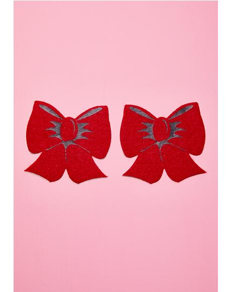 Red Bow Pasties
