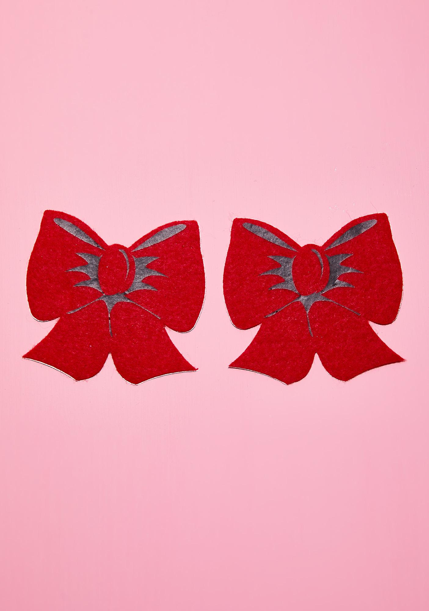 Pastease Red Bow Pasties