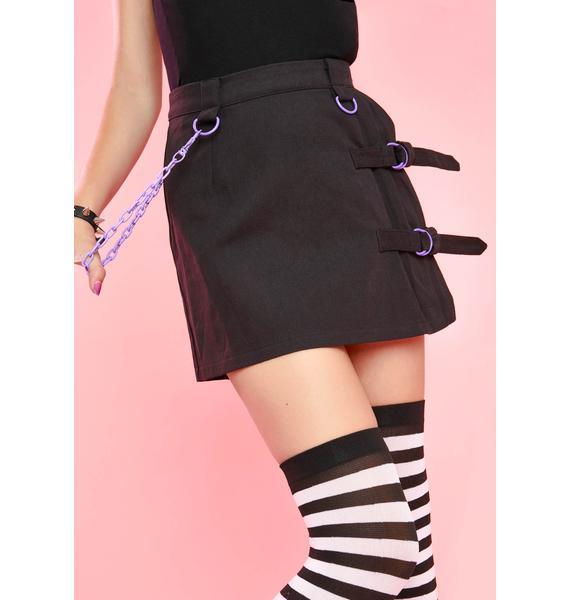 Sugar Thrillz Bratty Baby Bondage Skirt