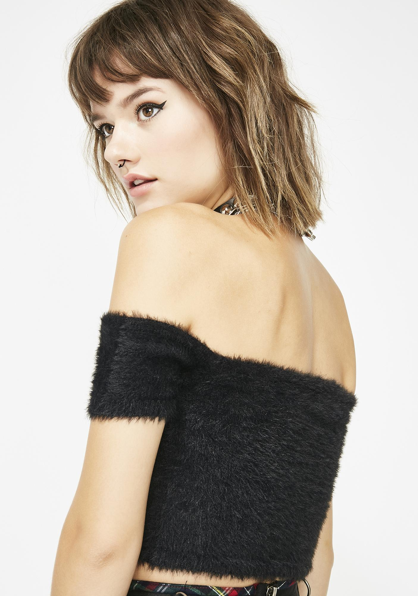 Midnight Your Loss Crop Top