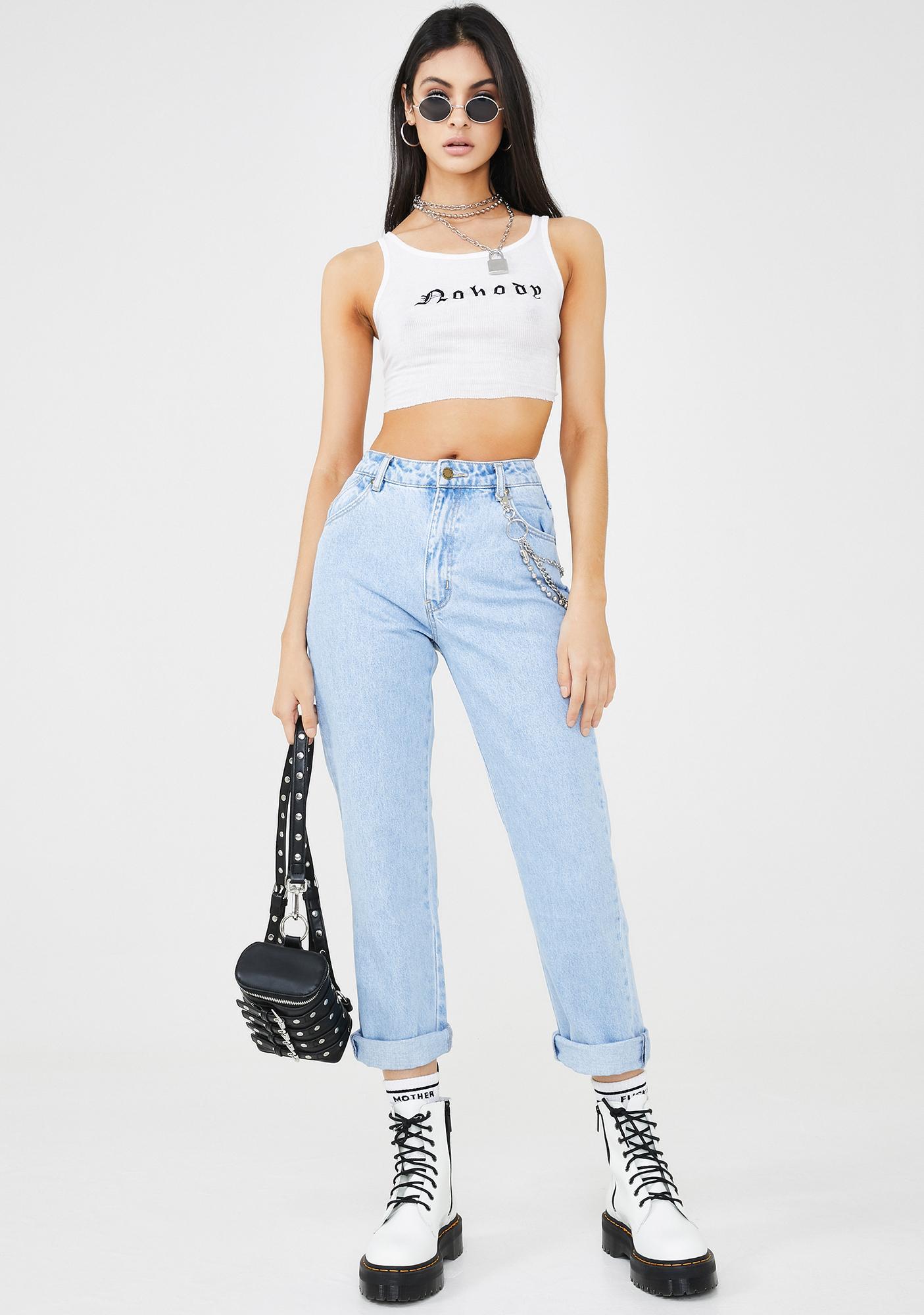 Rollas Original Straight Leg Denim Jeans