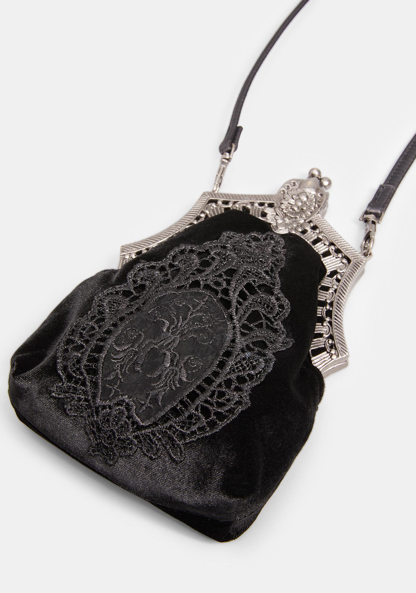 Widow Ticking Time Bomb Crossbody Bag