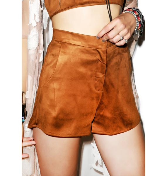 Suede It Up Shorts
