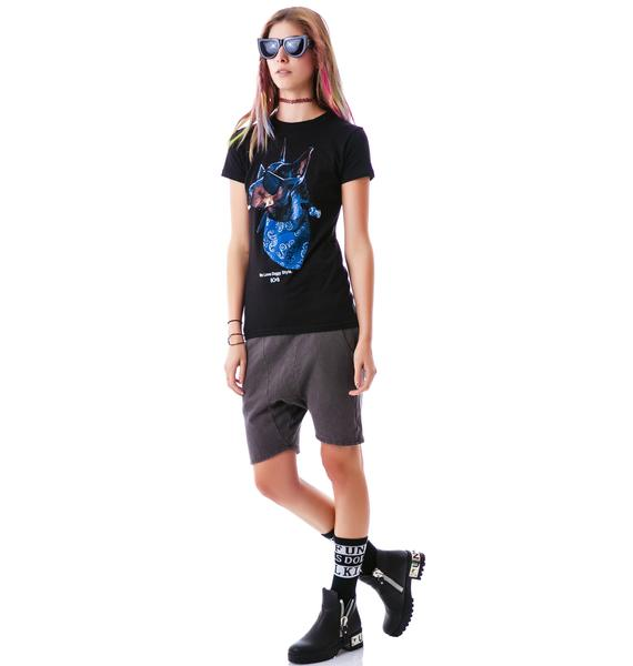 HLZBLZ x Belle of the Brawl Doggy Style Crew Neck Tee