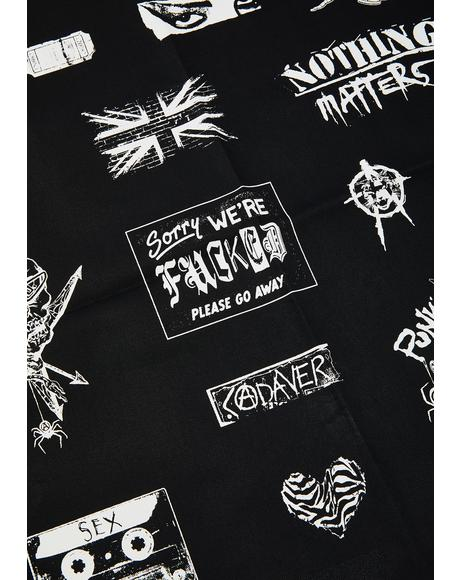 Punk Invasion Twill Patch Set
