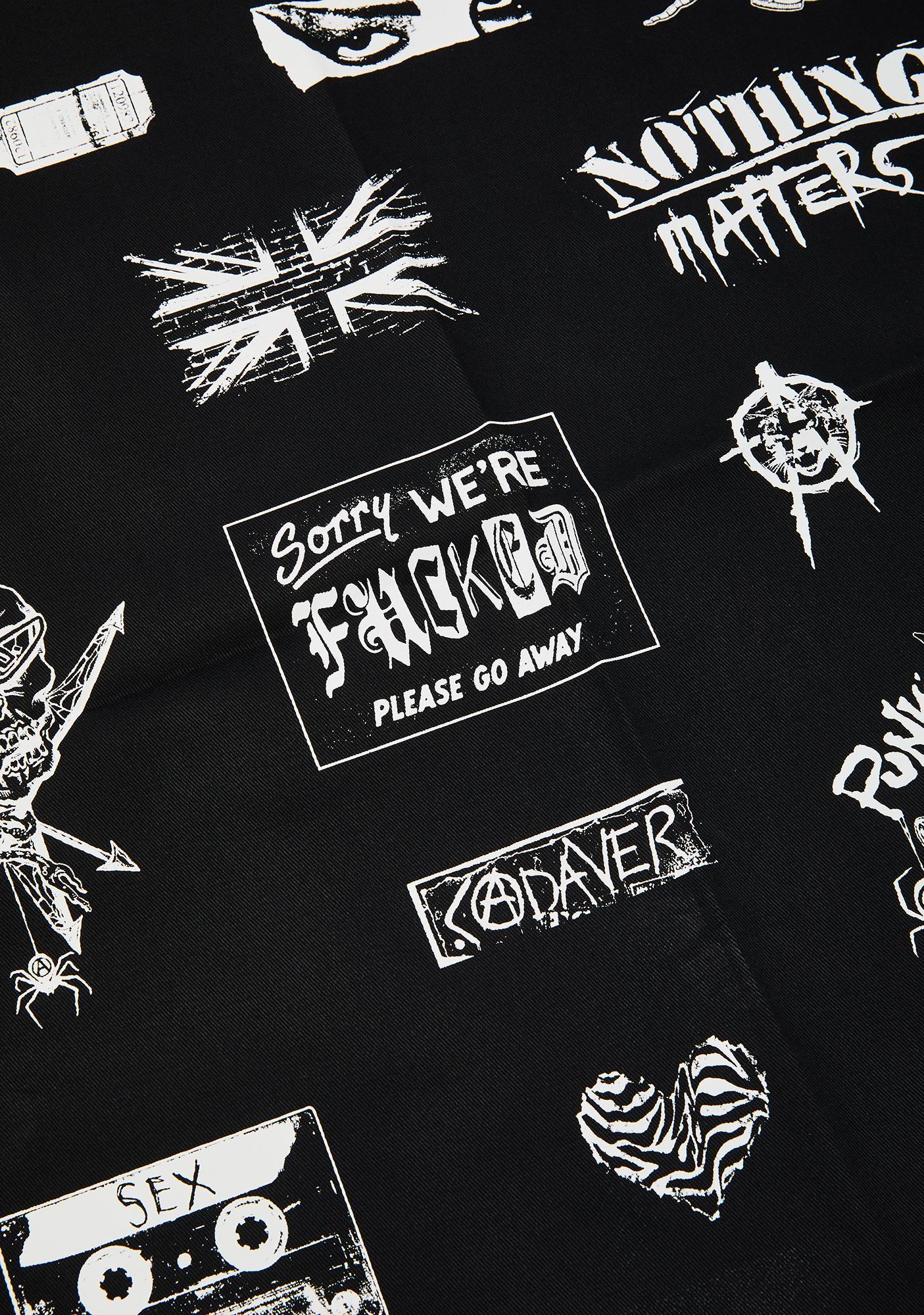 Current Mood Punk Invasion Twill Patch Set
