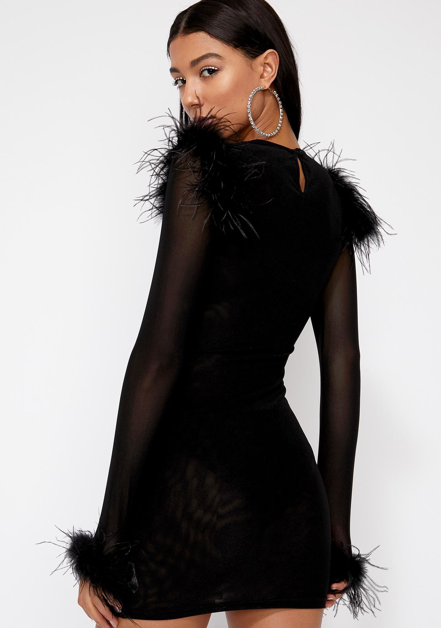 Diamond Ambition Mesh Dress