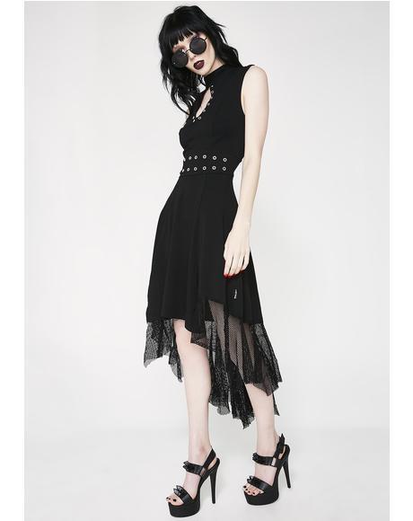 Hi Lo Eyelet Dress