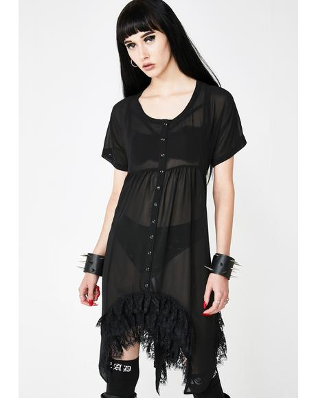 Lethal Lyric Mini Dress