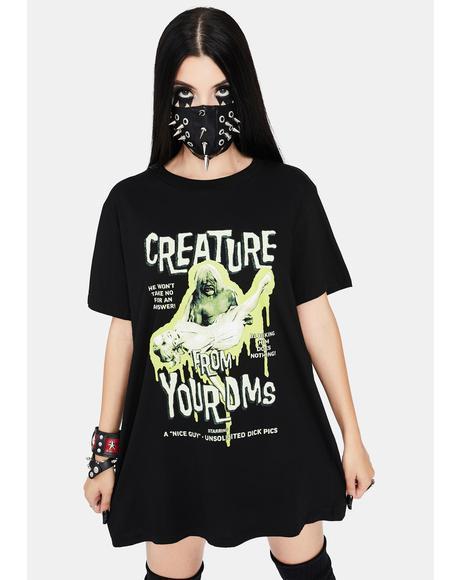 Creepiest Monster Short Sleeve Graphic Tee