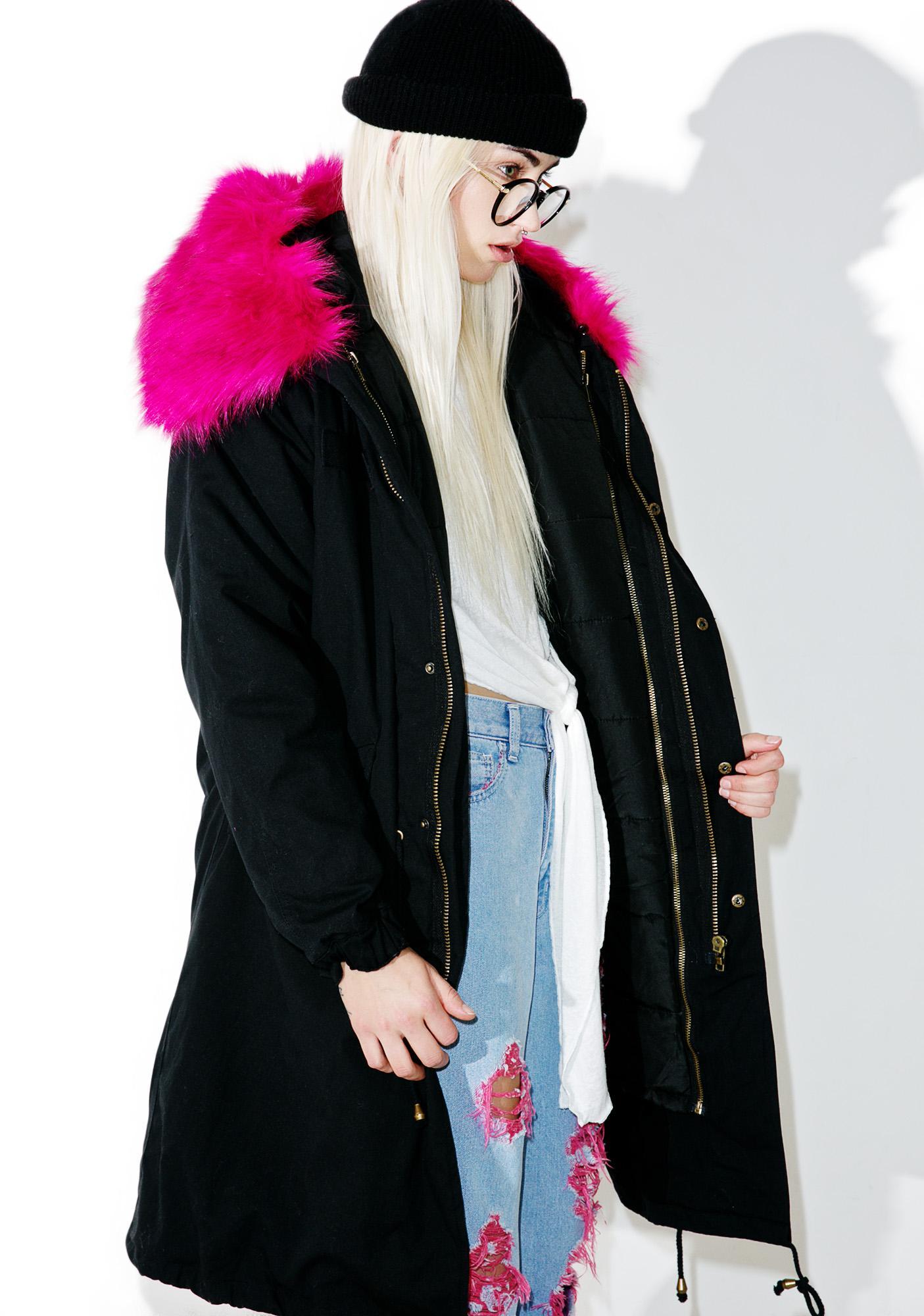 Wanderer Faux Fur Parka