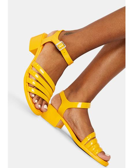 Sunny York Jelly Sandals