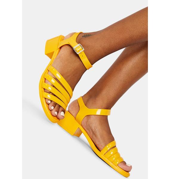 Petite Jolie Sunny York Jelly Sandals