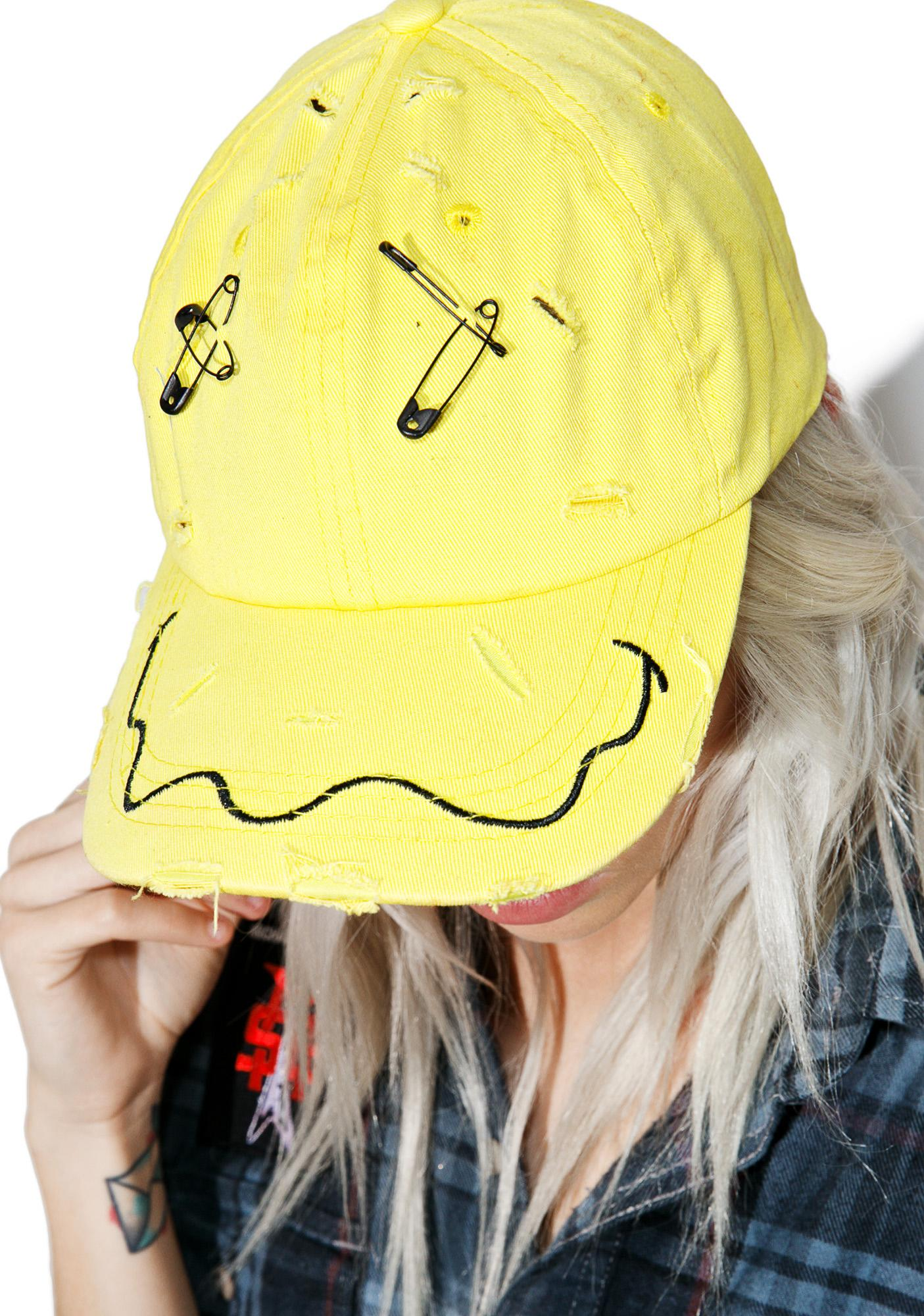 Show Me A Smile Pin Hat