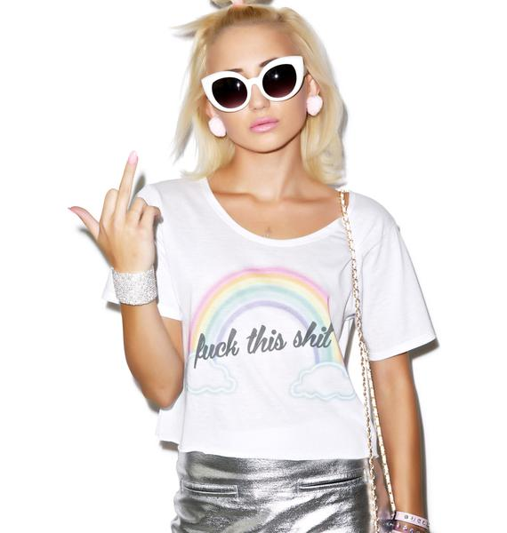 Local Heroes Fuck This Shit Cropped Tee