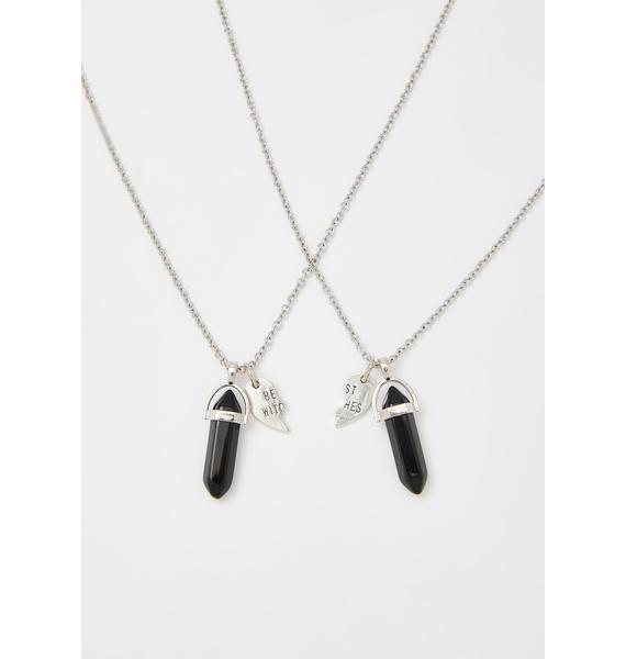 Mysticum Luna Best Witches Crystal Necklace Set