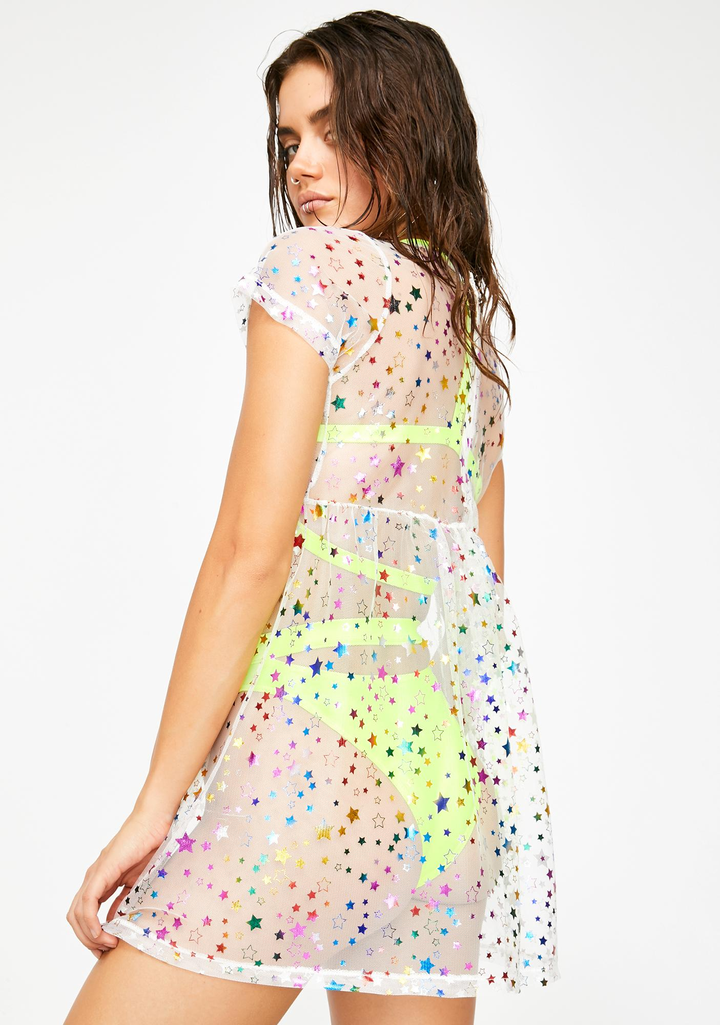 Pixie Passion Sheer Dress