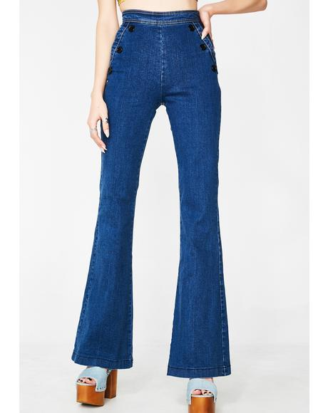 New Bae High-Rise Jeans