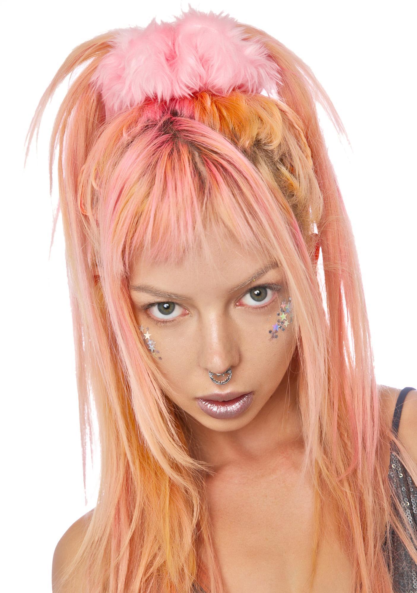 Kerenika Clarissa Faux Fur Scrunchie