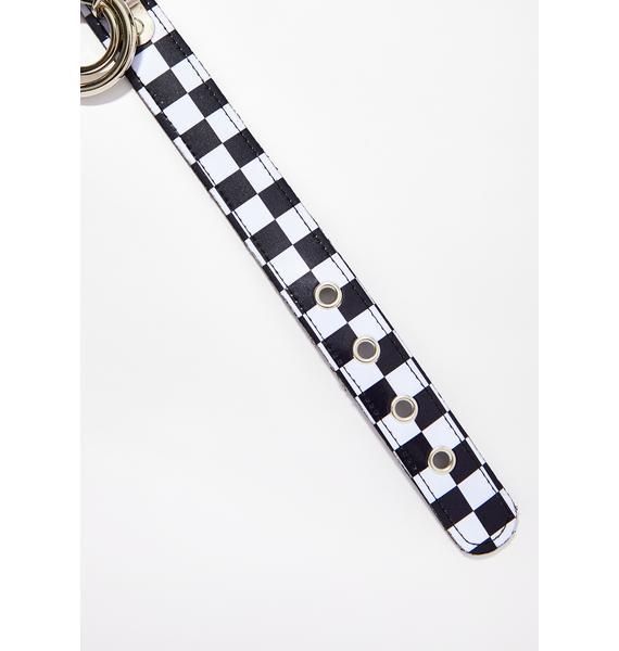 Mz Speedy Checkered Choker
