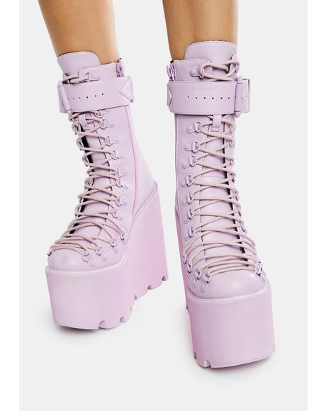 Lavender Traitor Boots