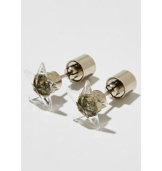 Shining Star Light Up Earrings