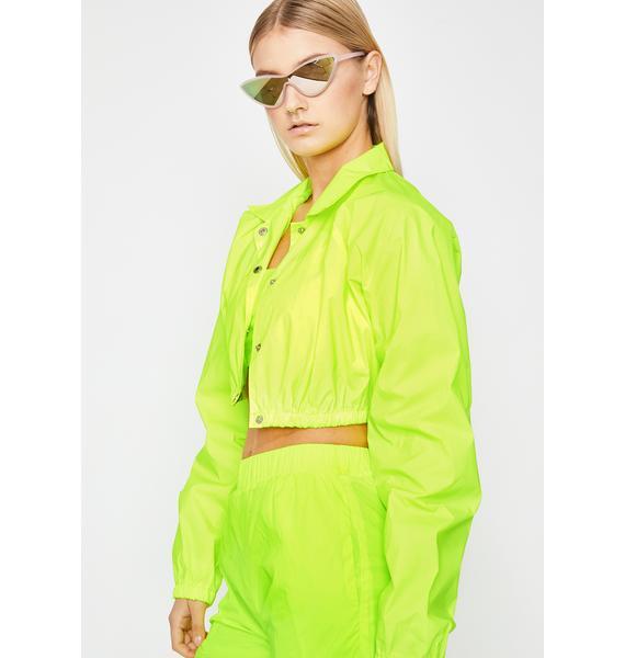 Lemon Flash Flavour Reflective Jacket