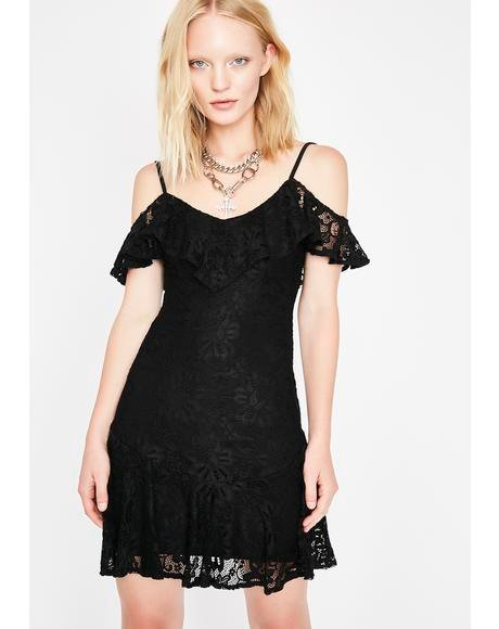 Obscure Charmer Lace Dress