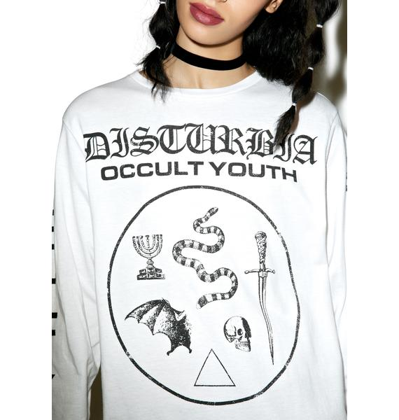 Disturbia Occult Youth Longsleeve Tee