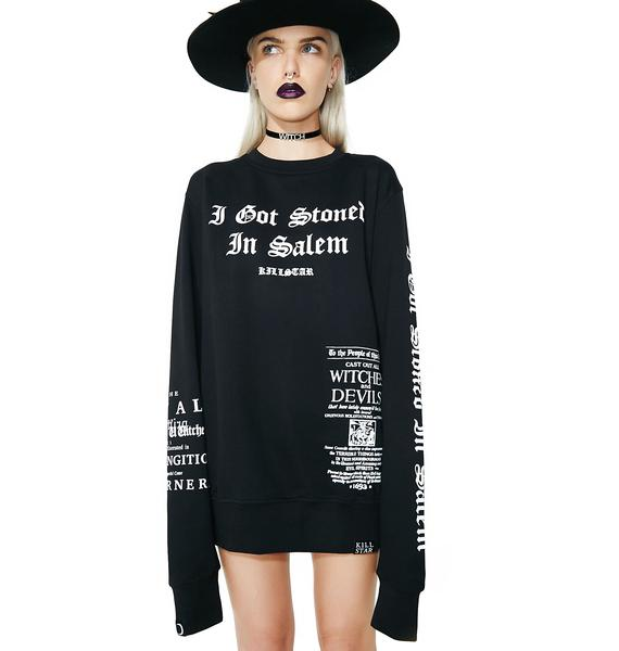 Killstar Stoned Sweatshirt
