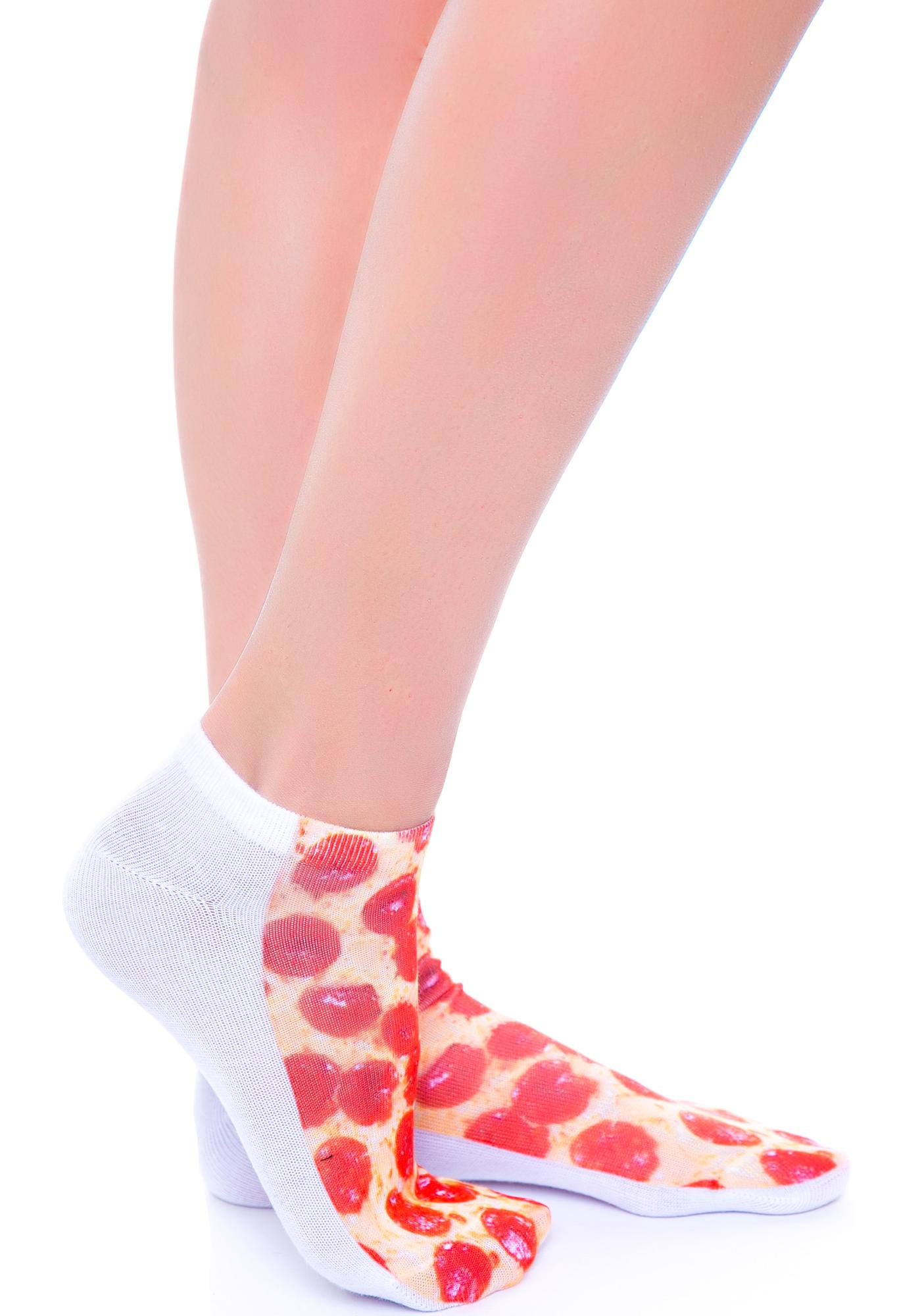 Mystic Pizza Socks