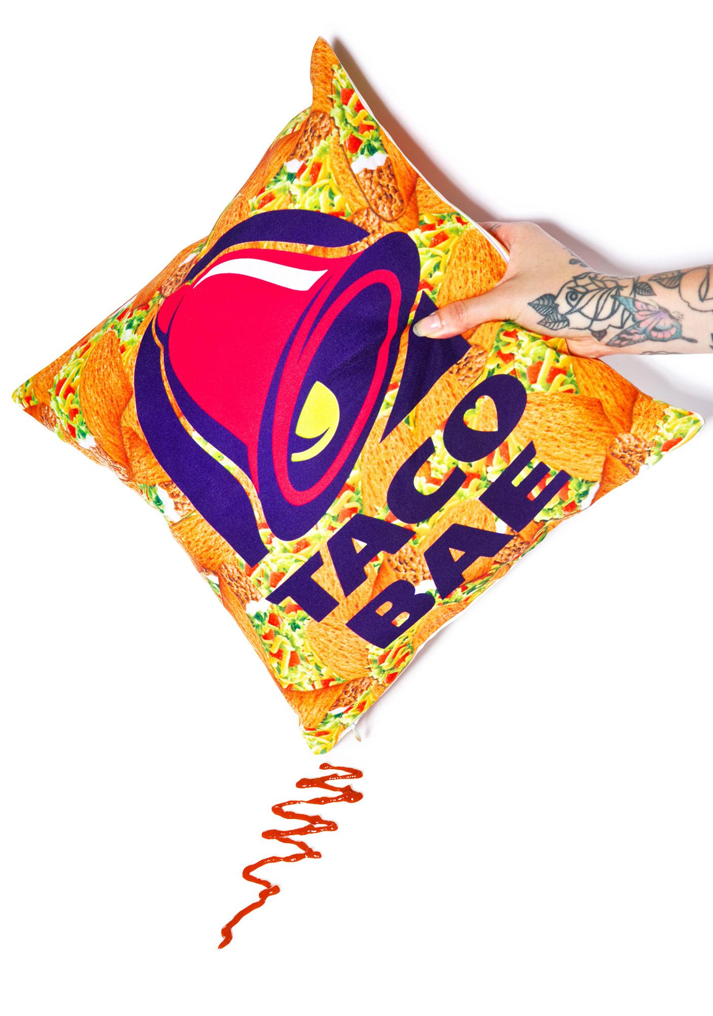 Taco Bae Pillow